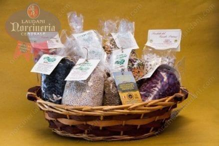legumi cereali prodotti agricoli cesto