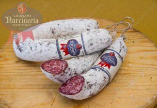 salamella con taglio norcineria laudani