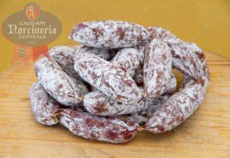salsiccia con cinghiale arrotolata norcineria laudani