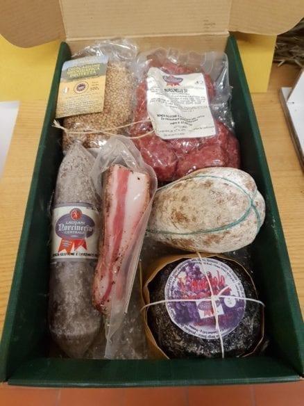 norcineria laudani confezione da 37 euro