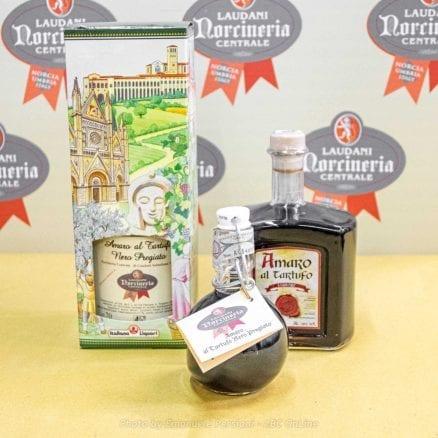Amaro al tartufo nero in varie versioni Norcia